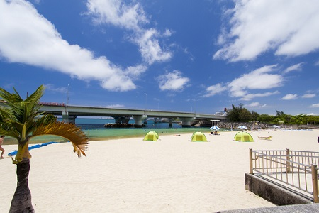 「那覇市移住」波の上ビーチ
