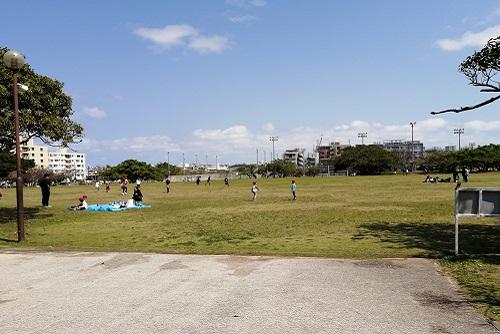 沖縄移住 新都心公園