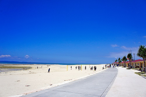 沖縄移住 海 豊崎美らSUNビーチ